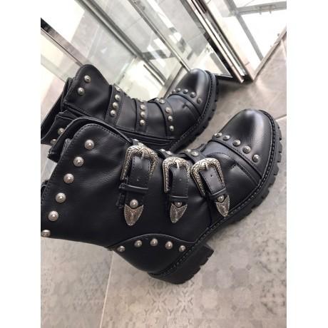 Černé kotníkové boty Bold