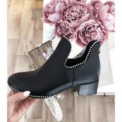 Alexander W černé kotníkové boty spring