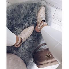 SOFIA boty béžové s podpatkem