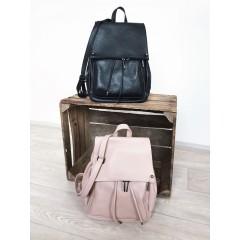 Kožený batoh Rippy Černý