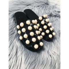 Pantofle Pearl Gold