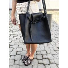 Černá kabelka - nový model Celi. handmade