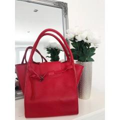 Červená kabelka - nový model Celi. handmade