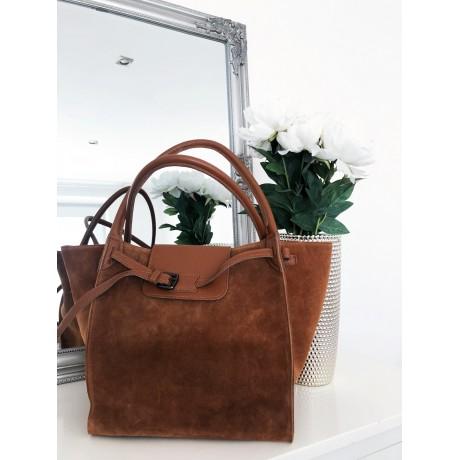 Camel kabelka - nový model Celi. handmade broušená