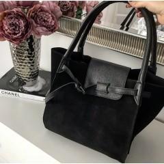 Černá kabelka - nový model Celi. handmade broušená