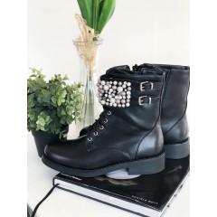 Kotníkové boty se sponou PEARL