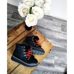 Černé boty SAINTY