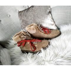 Zateplené camel botky WINTER