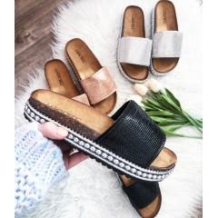 Pantofle Diamond černé