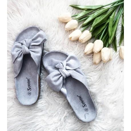 Pantofle Daisy šedé