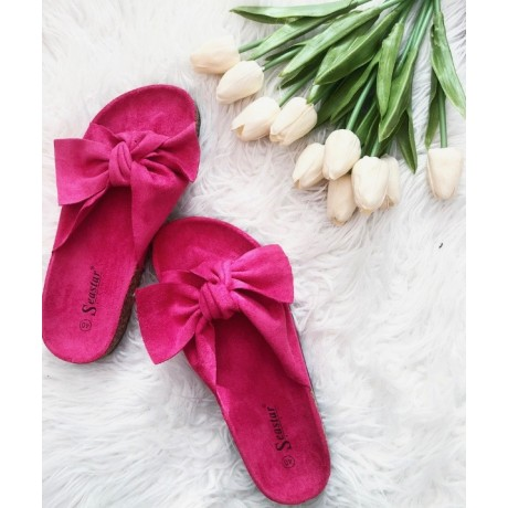 Pantofle Daisy fuchsiová