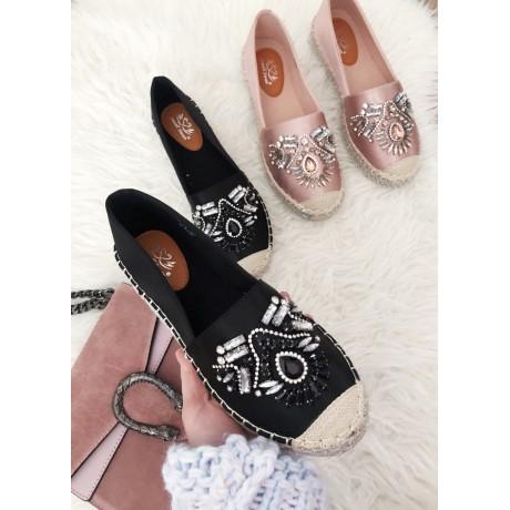 9d1561227 Espadrilky Diamond černé - I wanna shoes