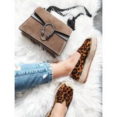 Espadrilky leopard