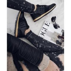 Černé tenisky VALENTI