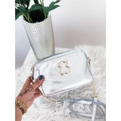 Malá kabelka Teddy silver