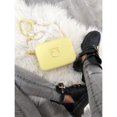 Kožená kabelka Furly žlutá