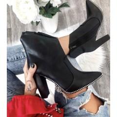 Černé kotníkové boty Marilyn