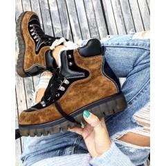 Zimní boty s kožíškem Hermer