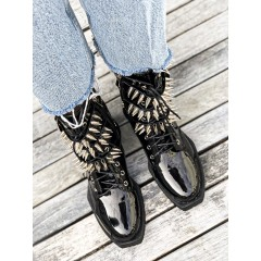 Černé bikery Spines