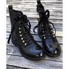Černé kotníkové boty Y-S-L classic