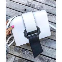 Ribbon kabelka - bílá