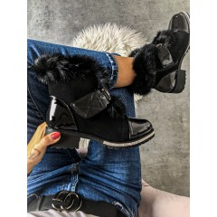 Zateplené boty Hermer natural