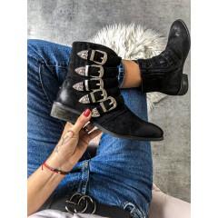 Černé boty Karl