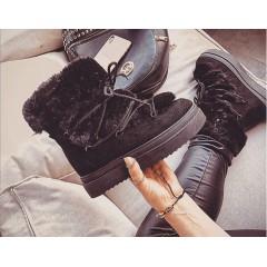 Černé zimní boty Frost