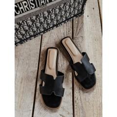 HERMI pantofle černé