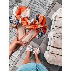 KILEY pantofle oranžové