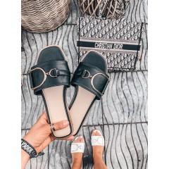 Pantofle AMBER černé