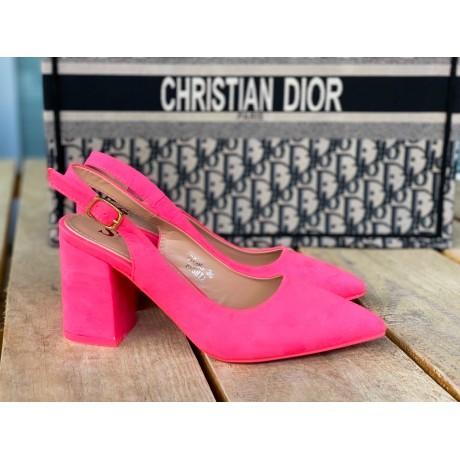 Lodičky Style pink