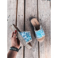 Pantofle Channy bílé