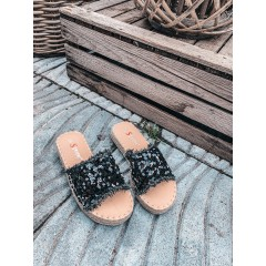 Pantofle Channy černé