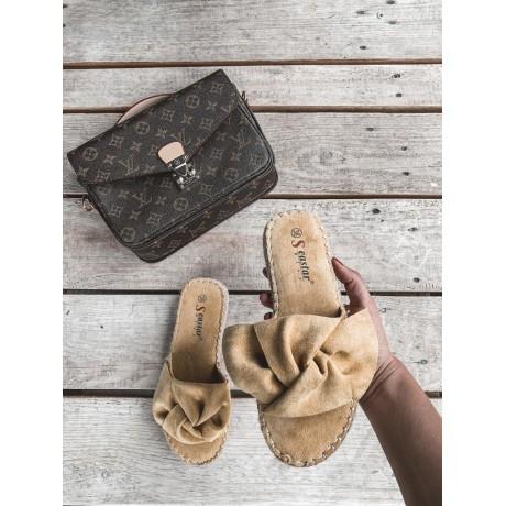 Pantofle Dianne žluté