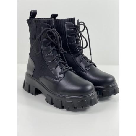 Kotníkové boty Kombin